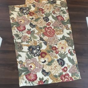 Pottery Barn 2panels of floral curtains 8ft/46""
